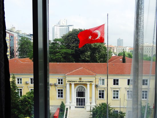 Opera Hotel : View of the city from room 607