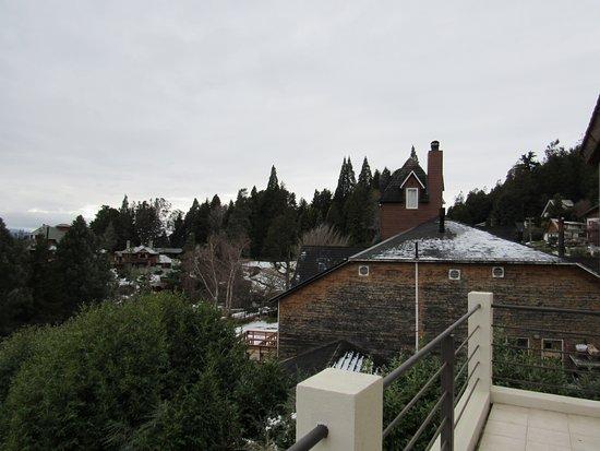 Altuen Hotel Suites&Spa: Foto da varanda do Quarto 6