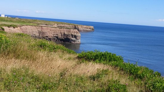 Glace Bay, Canada: View from Marconi Museum property.