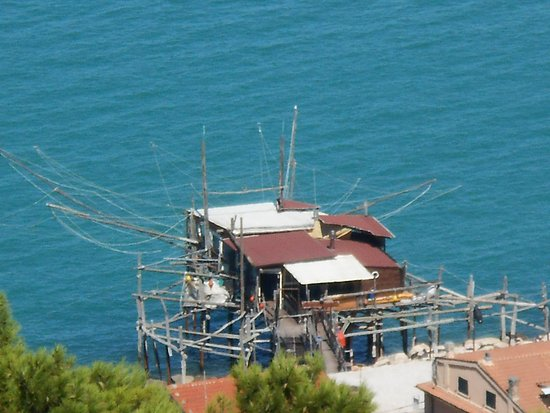 San Vito Chietino, Italie : Les belles baraques de pêcheurs !
