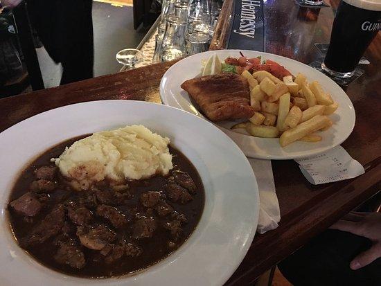 La comida muy buena picture of old stand dublin for Comida buena