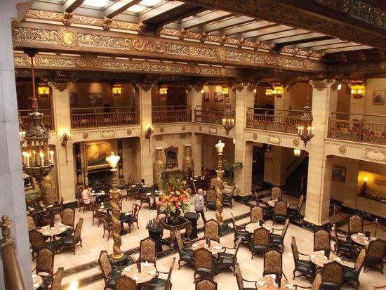 Downtown Spokane: Davenport Hotel Lobby