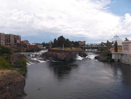Downtown Spokane: View from Monroe Bridge