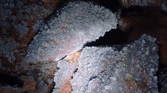 Puerto Villamil, Ecuador: Les cristaux sont sans intérêt.
