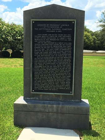 Bushnell, FL: Lincoln's Address