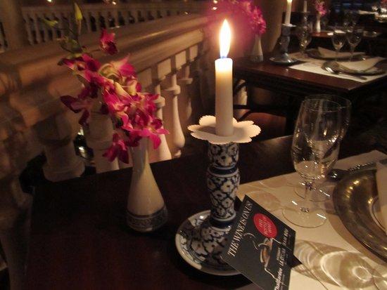 Restaurant Thai Garden: the atmosphere is very romantic