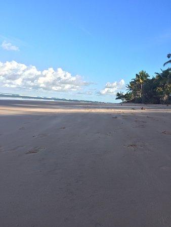Restaurante do espanhol: Fotos da praia em frente ao restaurante