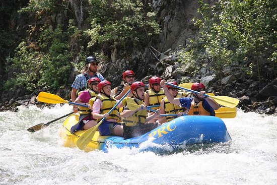 Lowman, ID: Rafting the Payette.