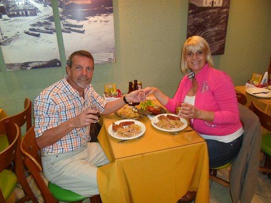 Lopes: cenando con Ale