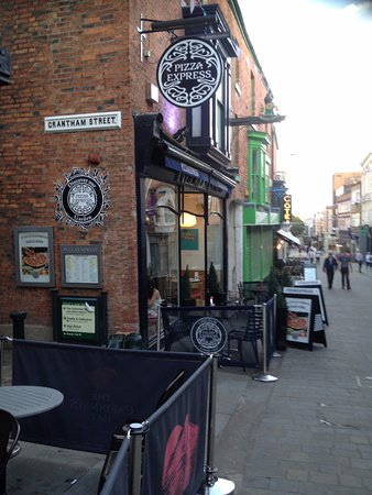 View Down The High Street Picture Of Pizza Express