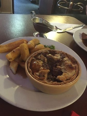 Denton, UK: Went out for Sunday lunch today but was a bit disappointed with it, the chips were like logs and