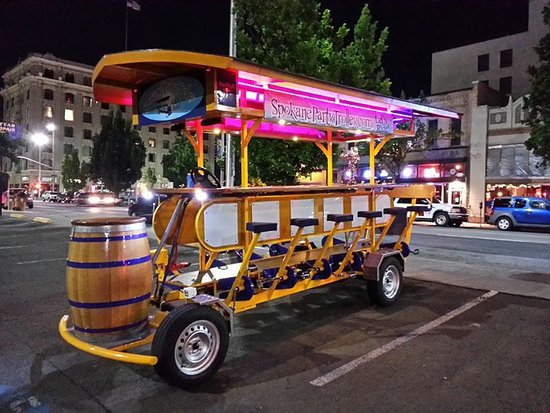Spokane Party Trolley