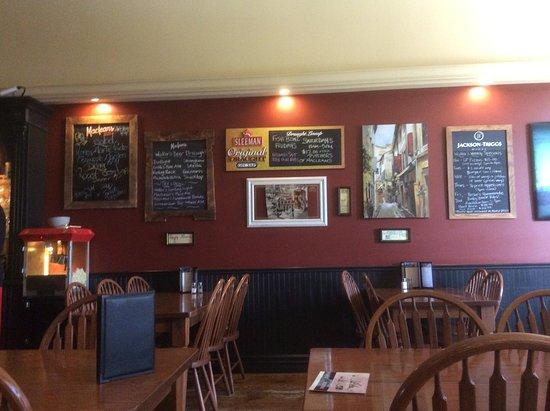 Walkerton, Kanada: Specials on chalk boards