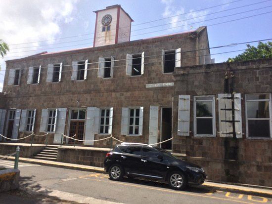 Charlestown, Nevis: Lovely old building