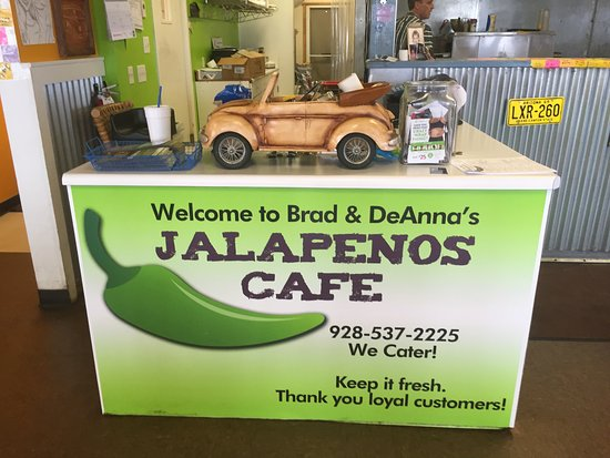 Jalapenos Cafe: This is a cute place. No frills just clean and neat!
