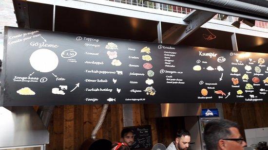 Ekmekci Markthal: Het concept Gözleme