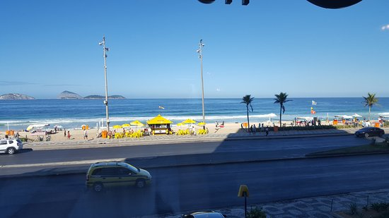 Sol Ipanema Hotel: View from the breakfast room