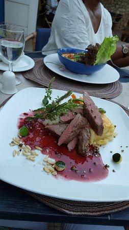 Cachoa Restaurant : The lamb dish
