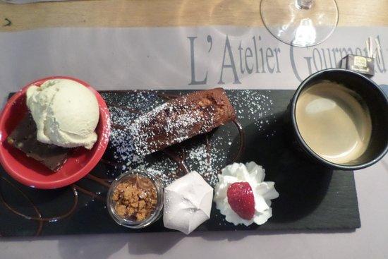 L'Atelier Gourmand : le café gourmand succulent!!!