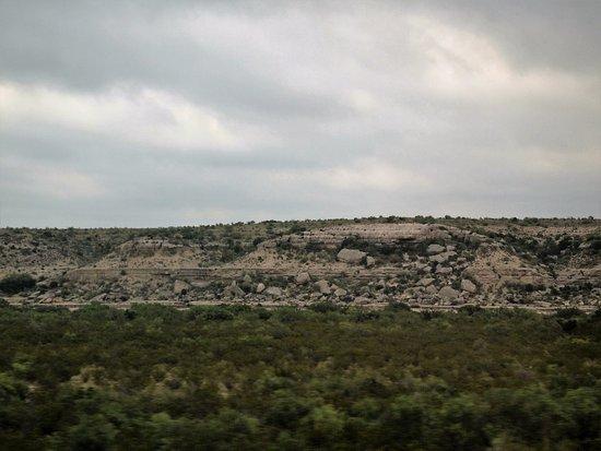 West Texas near Alpine on west bound Sunset Ltd.