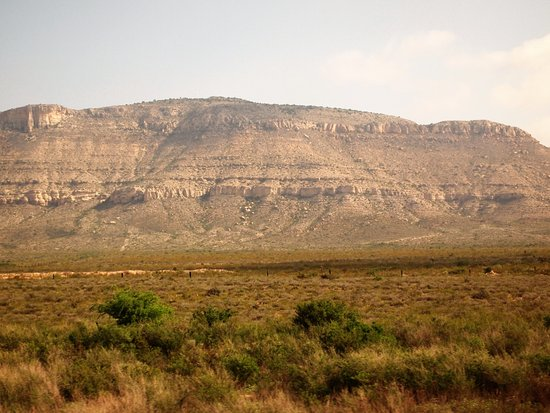 Άλπαϊν, Τέξας: West Texas near Alpine on west bound Sunset Ltd.