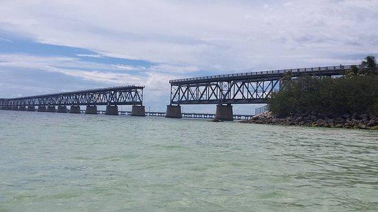 Bahia Honda State Park and Beach: Old bridge at Bahia Honda