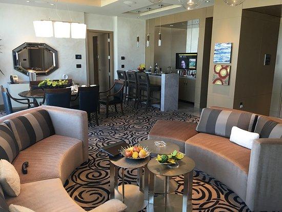 Aria Sky Suites Sky Villa 3 Living Room