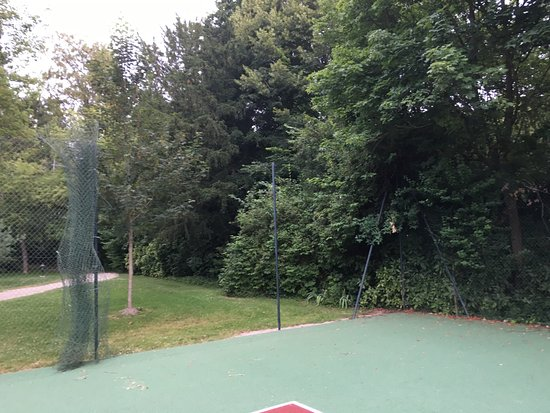 Tennis Court Fences Not Put Together Picture Of Waldorf Astoria