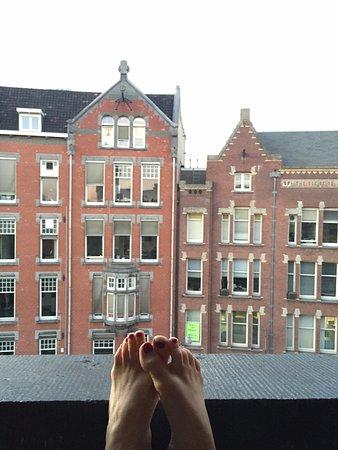 Hotel Nadia: View from the balcony!