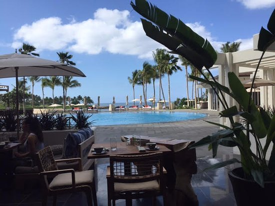 Four Seasons Resort Oahu At Ko Olina Family Pool View From La Hiki Restaurant