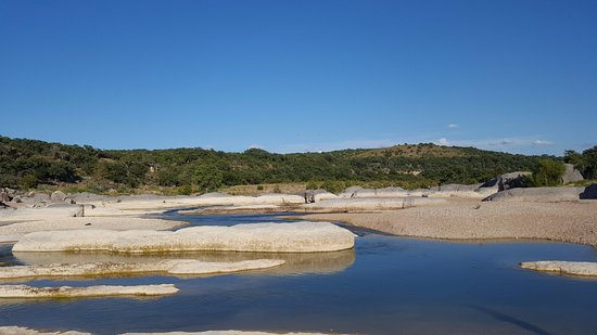 Pedernales Falls State Park: My friend joked and said this is where they faked the moon landing.