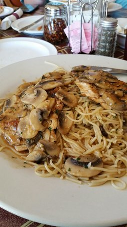 Gatesville, Τέξας: Chicken Marsala