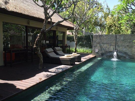 Depuis la chambre piscine priv e villa photo de kayumanis nusa dua private villa spa nusa - Hotel avec piscine privee dans la chambre ...