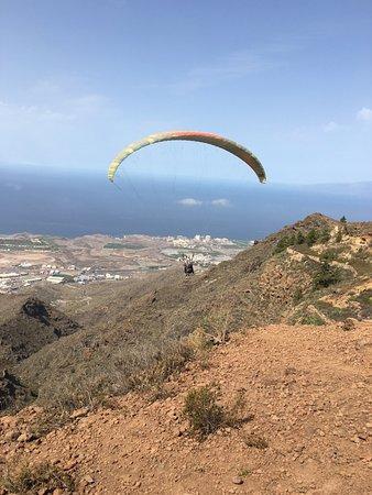 Tenerife Parapente.com: Вид со стартовой площадки.
