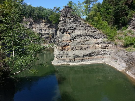 Beautiful pool at letchworth state park ny picture of - Letchworth state park swimming pool ...