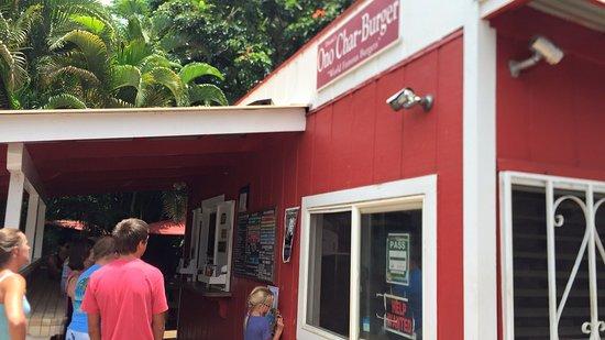 Anahola, Hawái: Duane's Ono Char-Burger