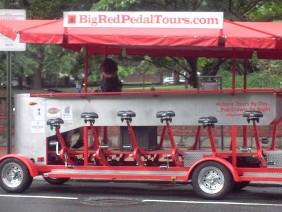 Big Red Pedal Tour Philly