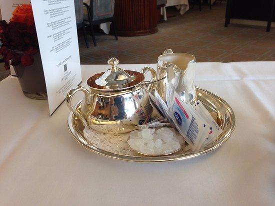 Althoff Hotel Am Schlossgarten: Detalhes dos utensílios