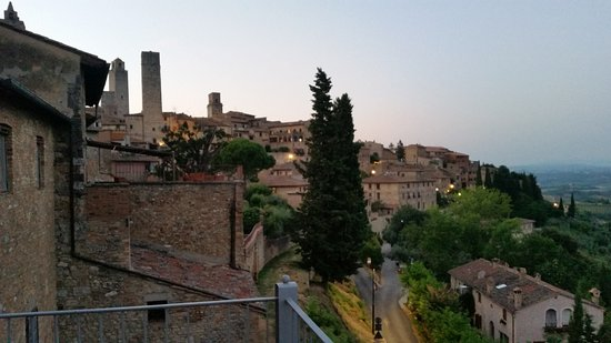 Morning view from restaurant (below the terrace) - Picture of Hotel ...