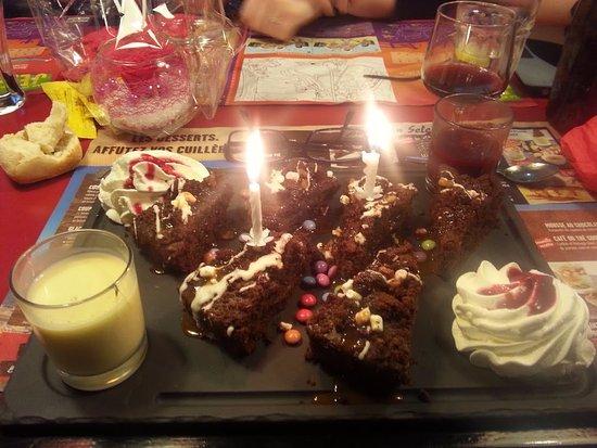 buffalo pour anniversaire