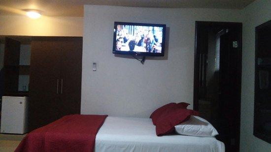 Metro Hotel Panama: Habitación