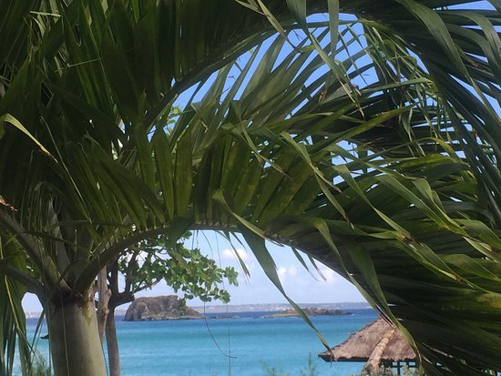 Grand Case Beach Club : View from 2nd floor balcony