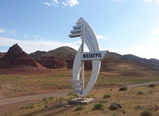 Lebap Province, Turcomenistão: Плато динозавров