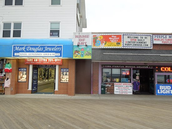 1 of many jewelry stores picture of ocean city boardwalk