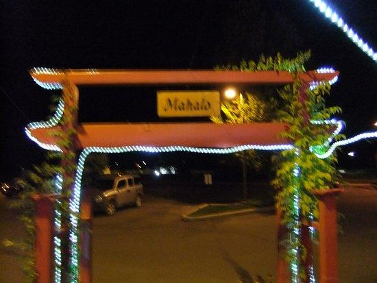 Konnyaku: You get a Hawaiin Thank You, when you walk out the door.