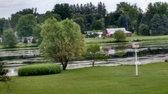 Neshkoro, WI: View from the veranda