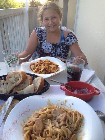 Lux, Frankrijk: Petit dîner avec ma fille