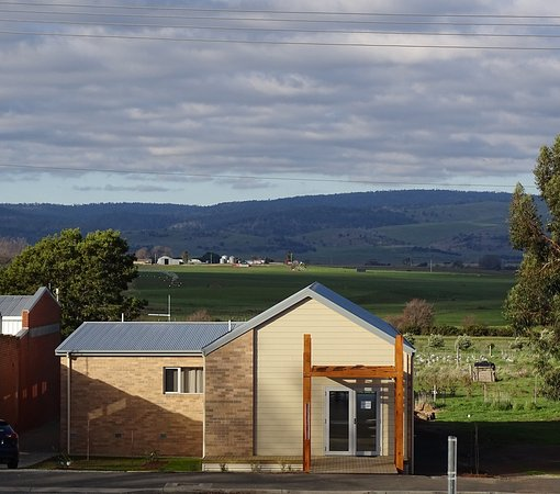Campbell Town, Australia: The view from the street