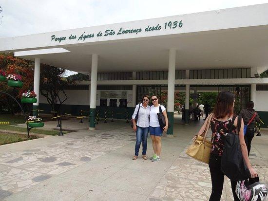 parque das Águas em Sao Lourenço