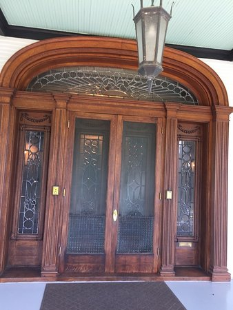 McFaddin-Ward House Museum : Main doors